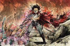 XombieDIRGE  Kaneda & Tetsuo by JP Valderrama