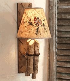 twig wall lamp w pinecone shade for innovative and creative wall lamp shade inspiring design ideas