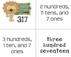 Math Coachs Corner: Teaching for Deep Understanding.   Students need to understand that 35 can be represented as 3 tens and 5 ones, but it can also be represented as 2 tens and 15 ones.  Includes free workstations activities.