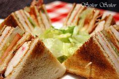 Sandwich Vips Club casero: El mejor sandwich del mundo | Receta de Sergio