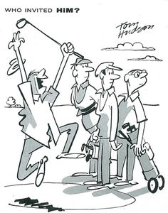 """""""YIPPEEE! Been playing for three weeks now and I'd almost given up getting a hole in one,"""" from November 1960."""