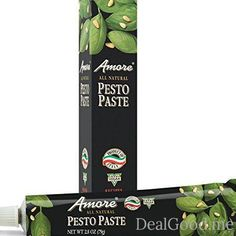 Amore All Natural Pesto Paste 2.8 Ounce Tube