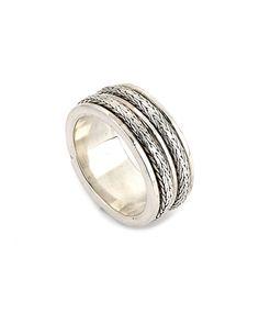 Samuel B. Tulang Naga Silver Ring