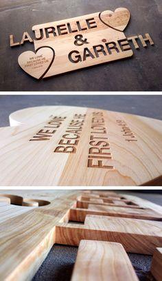 Handmade Cypress Gift. (Decor, wood) Bamboo Cutting Board, First Love, Wood, Gifts, Handmade, Decor, Madeira, Presents, Hand Made