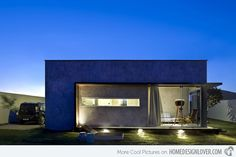 A Small, Simple and Sophisticated Rectangular Box House