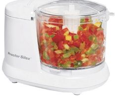 Proctor Silex Durable Mini Cup Food Processor & Vegetable Chopper for Dicing, Mincing & Puree, White Food Processor Reviews, Best Food Processor, Food Chopper, Mini Chopper, Vegetable Chopper, Homemade Dog Food, Homemade Soaps, Mini Foods, Vegetables