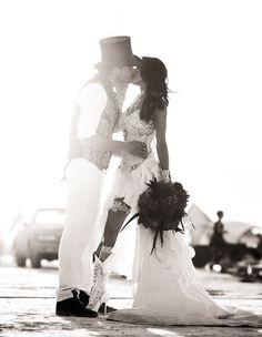 Bridal Hair Salon & Make Up For Weddings - Cabo San Lucas Rave Wedding, Punk Rock Wedding, Wedding Men, Chic Wedding, Wedding Styles, Wedding Gowns, Dream Wedding, Victorian Wedding Themes, Hippie Costume