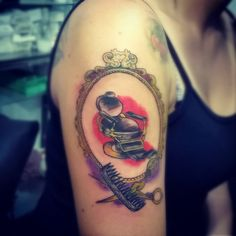 #Tattoo #BarberTattoo  #Tattooed #Tradicional