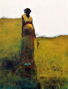 Cathy Hegman - Contemporary Artist - Figurative Painting - Weight of Balance Red Flags