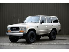1988 FJ62 Toyota Land Cruiser  (Vortec V8 upgrade)
