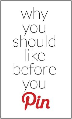 "Do you use the ""like"" feature on Pinterest? This is a great Pinterest tip!"