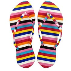39e6d23096d7 Chose Chic features women s sandals with vibrant and colorful striped  pattern. Shop women s flip flops at Chose Chic!
