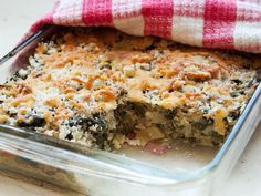 kale and cabbage gratin, though really more rice casserole. seriouseats.com