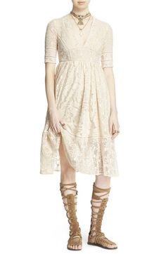 Free People 'Mountain Laurel' Lace Dress available at #Nordstrom
