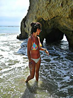 Bikini Babe....Veronica Cruz....Zuma Beach