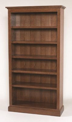 Handcrafted in the popular mission style, this Home Office Plain Mission Bookcase is a great addition to any home. The mission style design is know for straight Amish Furniture, Furniture Movers, Steel Furniture, Furniture Companies, Cheap Furniture, Furniture Projects, Home Furniture, Furniture Websites, Childrens Bookcase