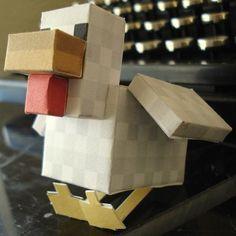 Minecraft Papercraft Chicken