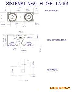 Subwoofer Box Design, Speaker Box Design, Audio Engineer, Sound Engineer, Music Speakers, Diy Speakers, Speaker Plans, Speaker System, L Acoustics