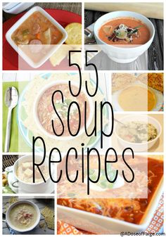 These soup recipes will keep you toasty all winter long whether you are curled up in bed or sitting by a warm fire.