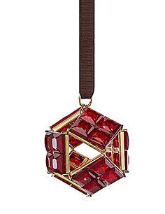kate spade new york by Lenox Bejeweled Pink Prism Ornament