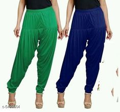 Checkout this latest Patialas Product Name: *Fabulous Women's Patiala Pants Combo (Pack Of 2)* Fabric: Cotton Viscose  Waist Size: XL - 34 in XXL - 36 in  Length: Up To 40 in Type: Stitched Description: It Has 2 Pieces Of Women's Patiala Pants Pattern: Solid Country of Origin: India Easy Returns Available In Case Of Any Issue   Catalog Rating: ★4 (1062)  Catalog Name: Sana Fabulous Women's Patiala Pants Combo Vol 8 With CatalogID_813672 C74-SC1018 Code: 853-5455604-168