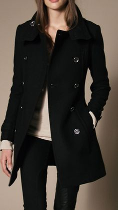 Burberry Brit wool coat, got this in the mail today, going to be dieting all winter so it will fit! So soft for wool, luxurious.