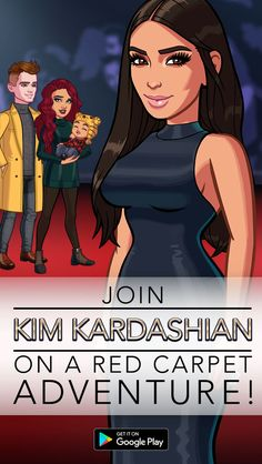 Download Kim Kardashian: Hollywood and go on a red carpet adventure for free! Create your own aspiring celebrity and rise to fame and fortune. Even better, rule the red carpet on your own terms as an A-list movie actor, cover model, fashion designer and more � what you do is up to you.