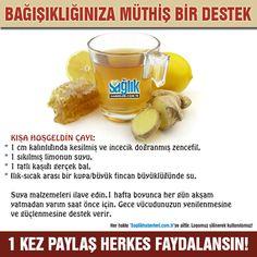 Bağışıklık istemini güçlendiren içecek!