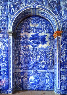 Tiled Portico, Portugal
