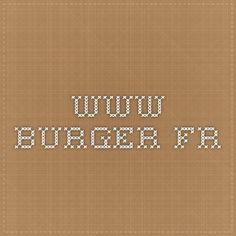 www.burger.fr