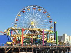 Santa Monica Pier, LA, CA, US