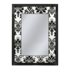 Head West Elysian Damask Mirror 27 by 35Inch >>> More home décor info could be found at the image url.