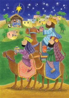 We Three Kings Advent Calendar | Medium Religious | Vermont Christmas Co. VT Holiday Gift Shop