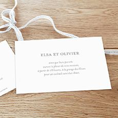 Carton d'invitation Chic by Elephant (rose) pour www.rosemood.fr #atelierosemood #rosemood #atelierrosemood #mariage
