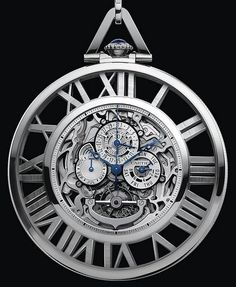 Really liking these Cartier watches  – Cartier Skeleton Grand Complication Pocket Watch