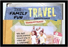 """AARP is having a """"Family Fun Travel"""" sweepstakes and instant win game for 2015, where the grand prize winner will score a trip for six to the winner's choice of either a Grand Canyon Adventure, …"""