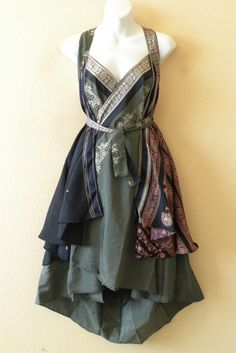 Pretty Outfits, Beautiful Outfits, Cool Outfits, Innenohr Piercing, Mode Russe, Diy Fashion, Fashion Dresses, Sari, Character Outfits