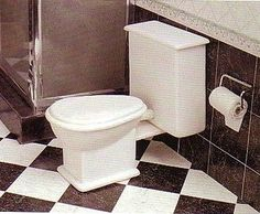 how to: toilet and toilet paper/loo roll holder (in Spanish, with good diagrams and photos)