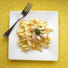 Souper Salad's Corn Fettucini Salad