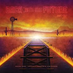 ...And finally the cover for #BackToTheFuture Part III. #vinyl #mondo #bttf #bttf3 #martymcfly #delorean by dkngstudios