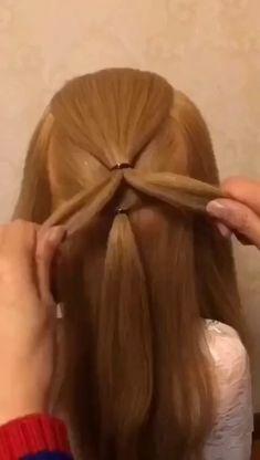 Easy Hairstyles For Long Hair Cute Little Girl Hairstyles, Easy Hairstyles For Long Hair, Beautiful Hairstyles, Hairstyles For School, Braided Hairstyles, Wedding Guest Hairstyles, Party Hairstyles, Hair Tips, Hair Hacks