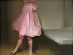 Tina Heiska - FROM THE SERIES PATENT SHOES Oil on canvas 130x170cm