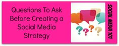 I want to use social media for my business, now what?