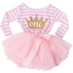 NNJXD Girl Shinny Stripe Baby Girl Sleeveless Printed Tutu Dress *** Read more reviews of the product by visiting the link on the image. (Note:Amazon affiliate link)