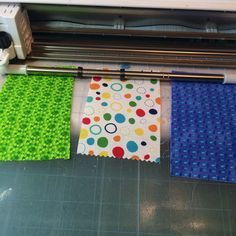 Cutting fabric without backing - using Terial Magic
