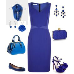 """Cobalt Blue Dream"" by angel-lia on Polyvore"