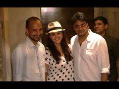Priety Zinta at the screening of Tanu Weds Manu Returns movie.