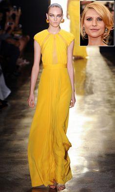 Will Claire Danes wear Cushnie et Ochs S/S 15?