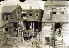 Lewis Hine,TITLE ON OBJECT: Tenement Rookeries, Washington, D.C., PUBLISHED TITLE: Slums in Washington, D.C. SERIES, 1908.