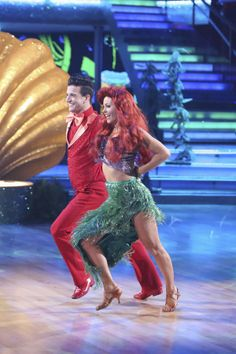 dancing with the stars 2014 week 5 mark ballas candace cameron bure 1